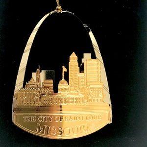 RARE John Pils St. Louis Skyline Ornament